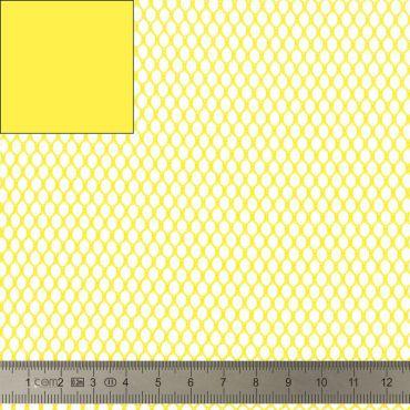 Tissu Filet Mesh fabric jaune 137cm