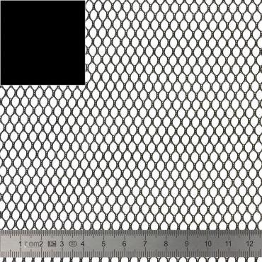 Tissu Filet Mesh fabric Noir 137cm