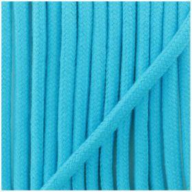 Cordon Coton Turquoise 5mm