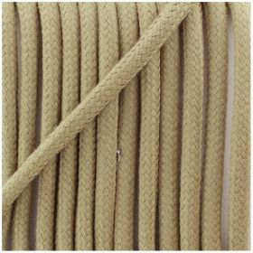 Cordon Coton naturel 5mm