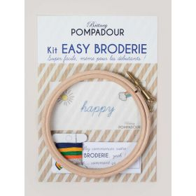 Kit easy broderie Happy Britney Pompadour