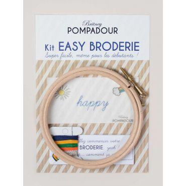 Kit easy broderie Happy Britney Pompadour