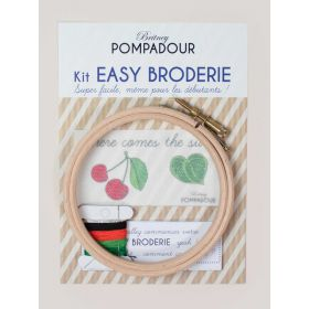 Kit easy broderie Cerise Here comes the sun
