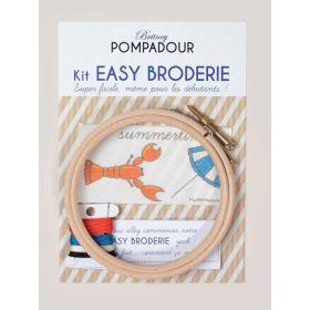 Kit easy broderie Homard Britney Pompadour
