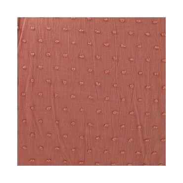 Plumetis marsala 140cm de laize voile de coton