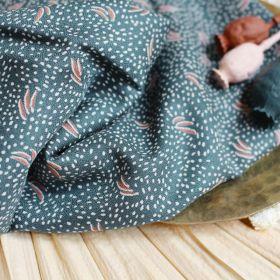 Tissu dune smokey crepe de viscose atelier Brunette 140cm