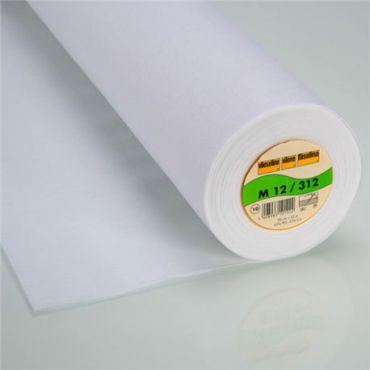Vvieseline à coudre 90cm blanc