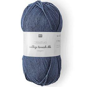 Silky touch vegan bleu marine