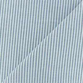 COTON VISCOSE RAYTIS BLEU 145CM