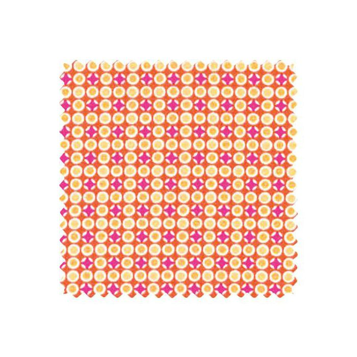 Coupon coton 50x70cm coton DJANGO TANGERINE
