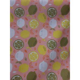Coton fresh lemon 150cm 100%coton