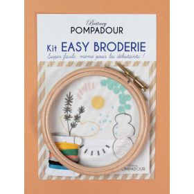 Big Kit broderie julie adore les vases