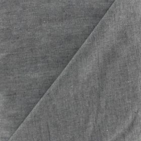 Chambray100%co oekotex 144cm gris