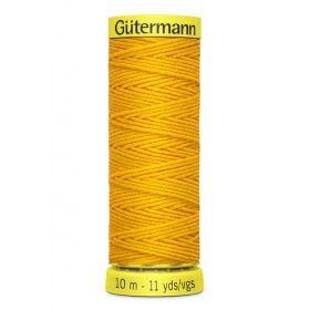 FIL ELASTIQUE  jaune 10 M