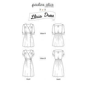 Patron robe Lliria Pauline Alice  34-48