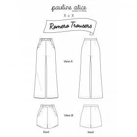Patron pantalon Pauline Alice  34-48