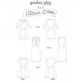 Patron robe aldaia Pauline Alice  34-48
