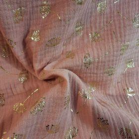 Double gaze foil dandelion 130cm