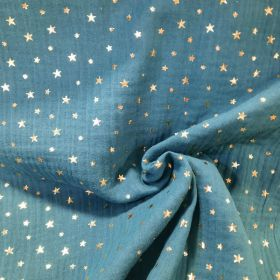 Double gaze foil print star paon