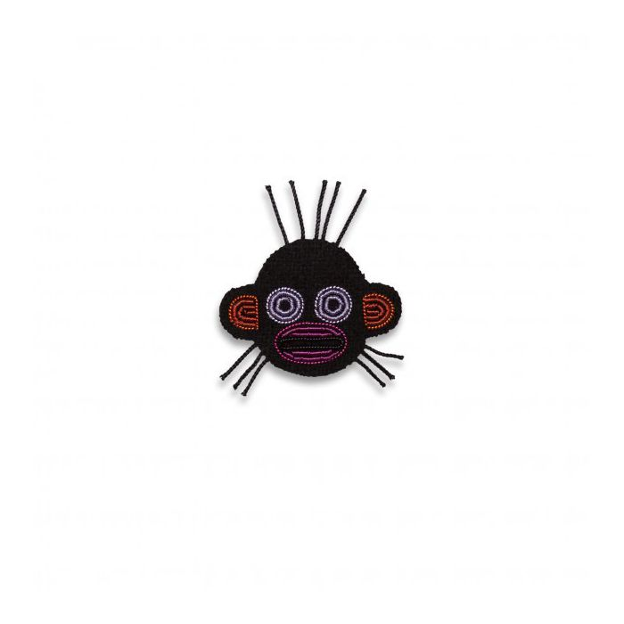 Broche mini singe macon et lesquoy