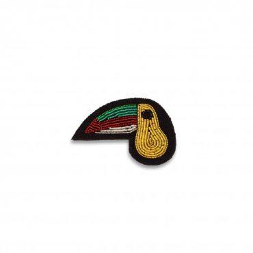 Broche mini toucan macon et lesquoy