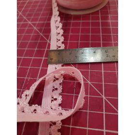 Elastique lingerie rose