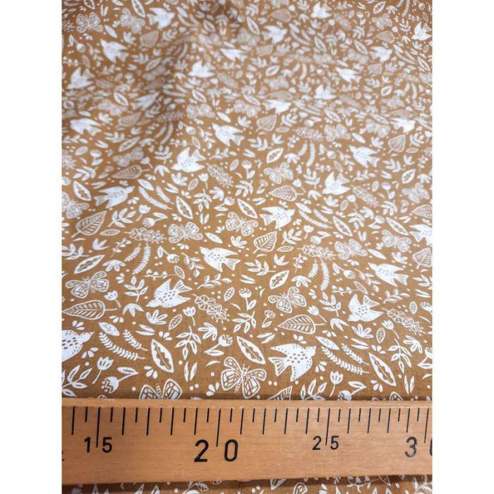 Coton paz noisette 150cm