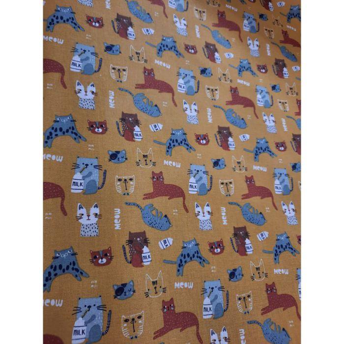 Coton chatons peanuts 150cm