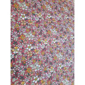 Coton pensée rose 150cm