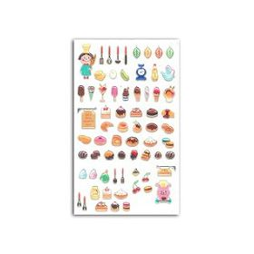 FUNNY STICKERS GOURMAND IRISE