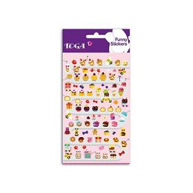 FUNNY STICKERS CUPCAKES
