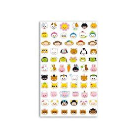 FUNNY STICKERS ANIMAUX DEGUISES