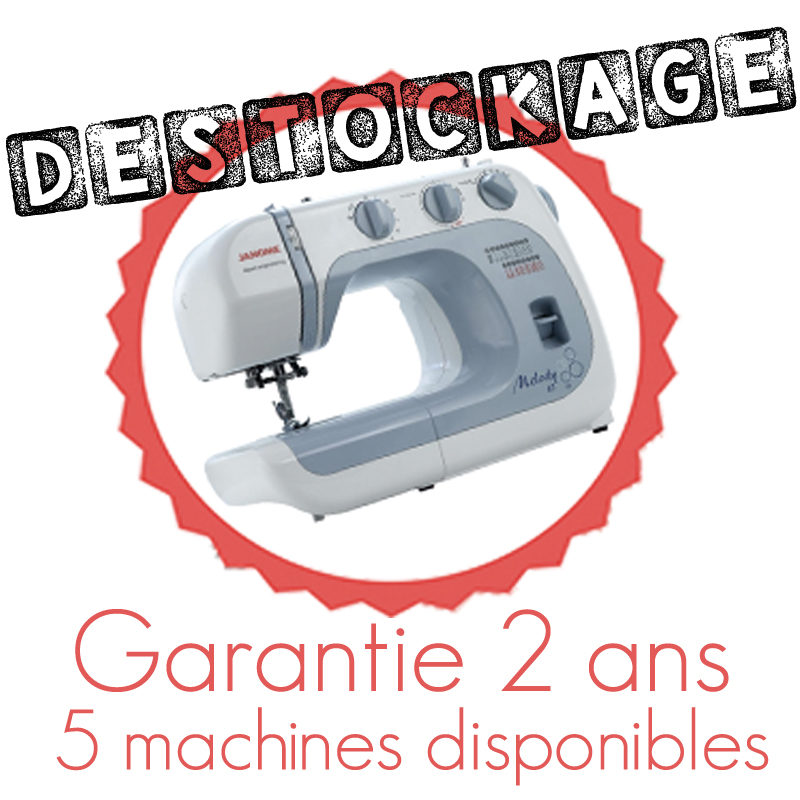 destockage machine à coudre