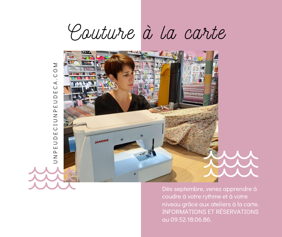 cours ateliers couture granville