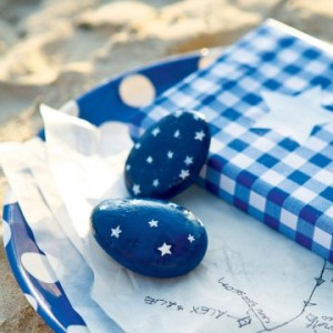 Galets bleus